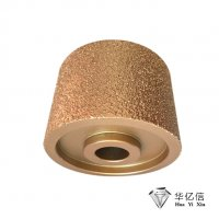 磨橡胶底钎焊滚轮